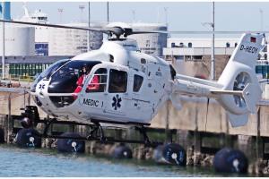 MEDIC1 op marinebasis Zeebrugge
